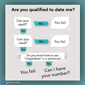 Dating Qualifications