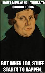 luther, reformation day