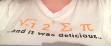 I ate some pi pie