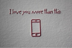 attached to cell phones