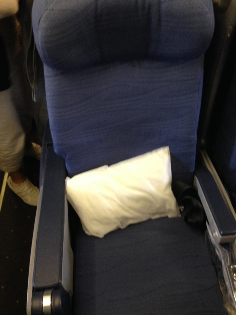 first class air plane