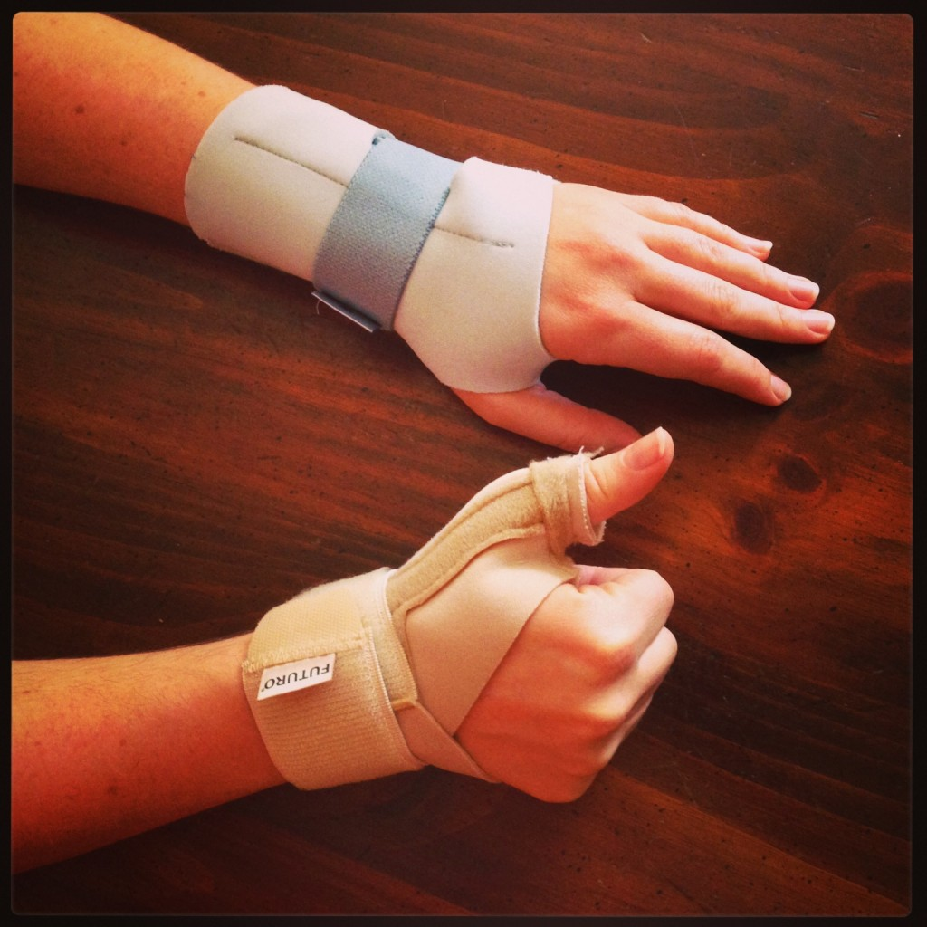 crafting thumb