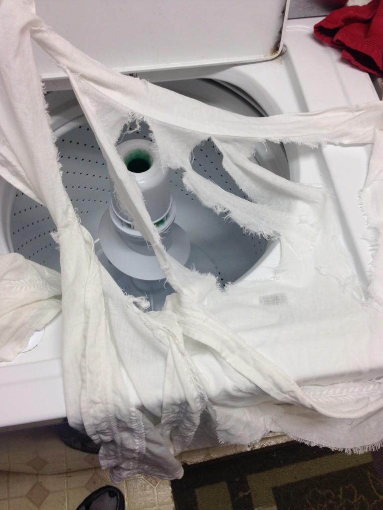curtains washing machine