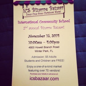 ICS Bazaar craft fair
