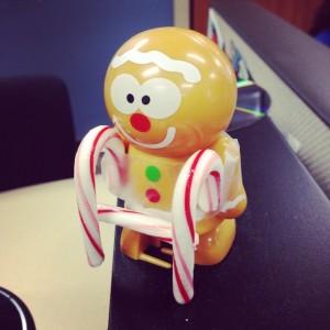gingerbread candy cane walker