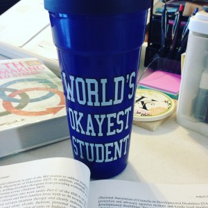 okayest student cup doctorate